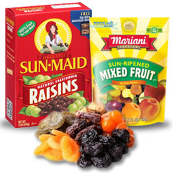 Ultralight Backpacking Foods - Dried Fruit