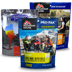 Freeze Dried Backpacking Meals
