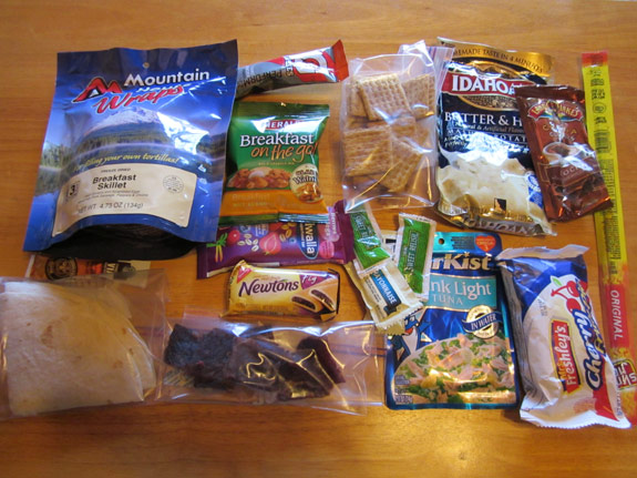 Ultralight Backpacking Meal Plan - Day 3