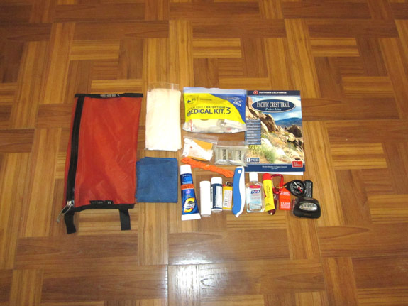 Ultralight Backpacking Gear List - Survival & Hygiene