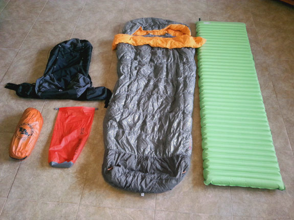 Erik the Black's Backpacking Gear List - Packing & Camping Gear