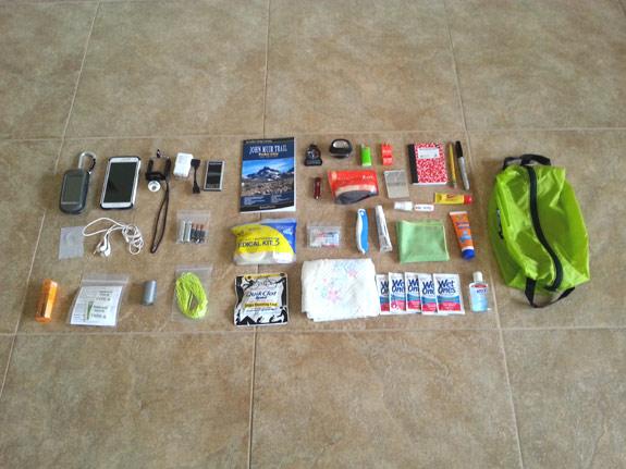 Erik the Black's Backpacking Gear List - Survival & Personal Gear