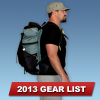 Erik the Black's Ultralight Backpacking Gear List (2013)
