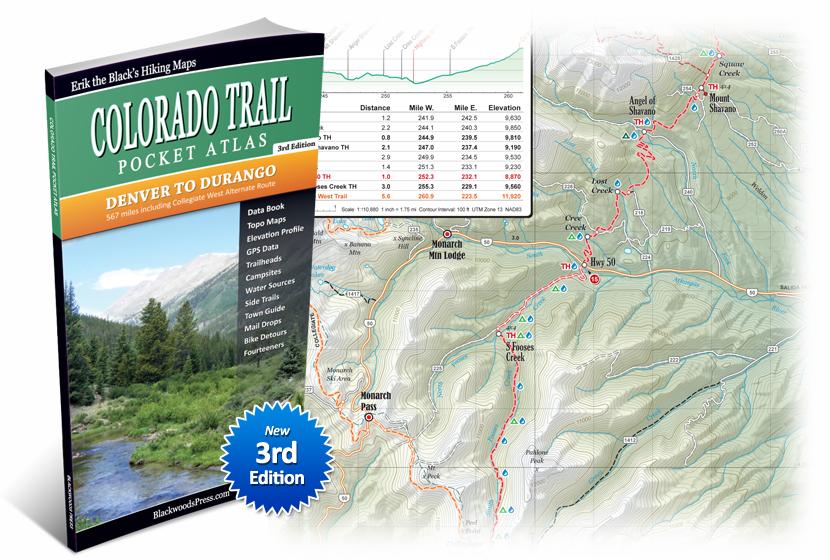 Colorado Trail Pocket Atlas