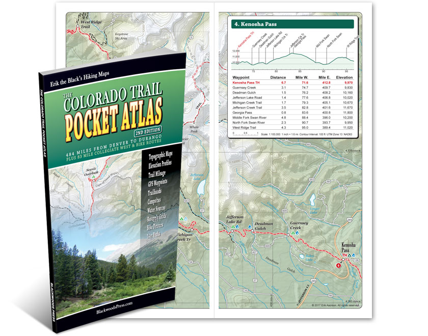 The Colorado Trail Pocket Atlas