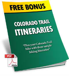 Colorado Trail Itineraries