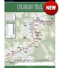 Colorado Trail Wall Map