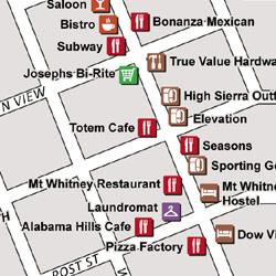 John Muir Trail Town Maps