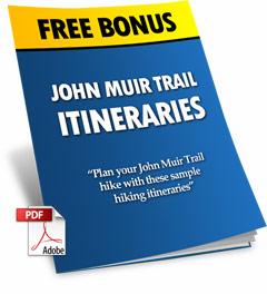 John Muir Trail Itineraries