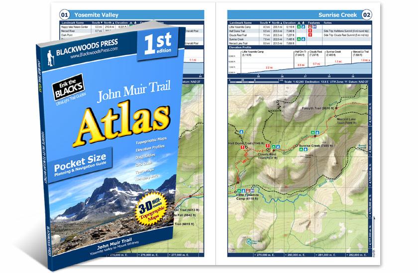John Muir Trail Pocket Atlas