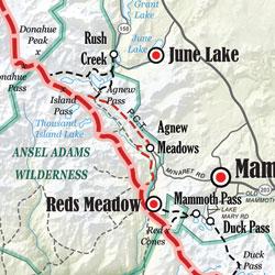 John Muir Trail Map