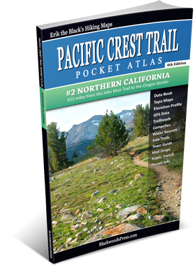 Pacific Crest Trail Pocket Atlas #2: Northern California