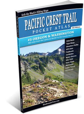 Pacific Crest Trail Pocket Atlas #3: Oregon & Washington