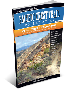 Pacific Crest Trail Pocket Atlas #1: Southern California