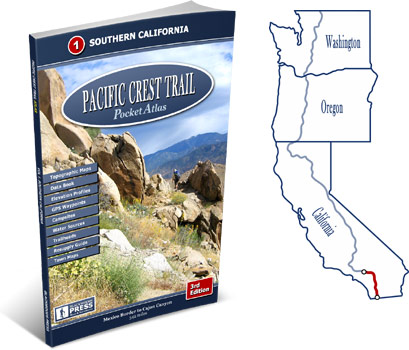 Pacific Crest Trail Atlas #1: Southern California