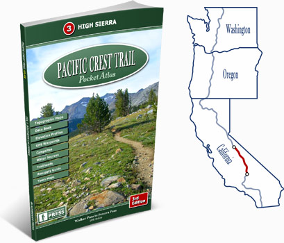 Pacific Crest Trail Atlas #3: High Sierra