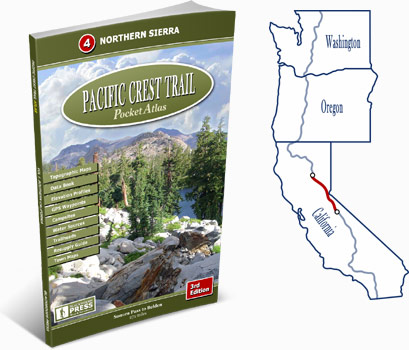 Pacific Crest Trail Atlas #4: Northern Sierra