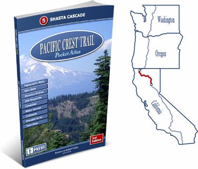 Pacific Crest Trail Atlas #5: Shasta Cascade