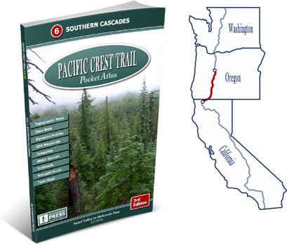 Pacific Crest Trail Atlas #6: Southern Cascades