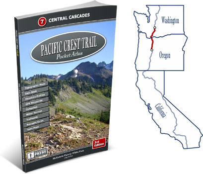 Pacific Crest Trail Atlas #7: Central Cascades