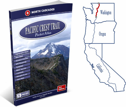 Pacific Crest Trail Atlas #8: North Cascades