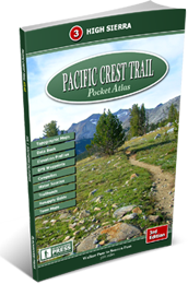 Pacific Crest Trail Pocket Atlas #3