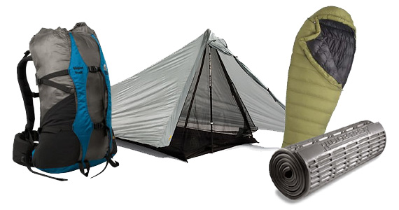 "The ""Big 3"" Backpacking Gear Items"