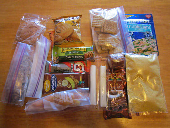 Dishes for ultralight backpacking