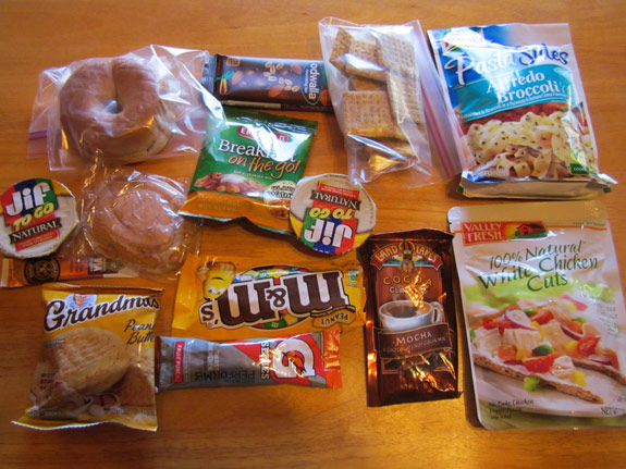 5-Day Ultralight Backpacking Meal Plan