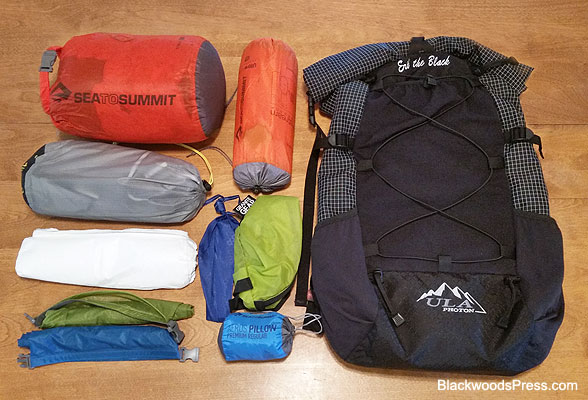 Ultralight Backpacking Gear: The Big Three