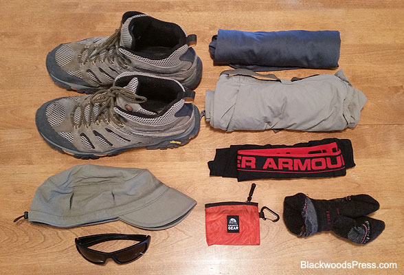 Ultralight Backpacking Gear: Clothing Worn